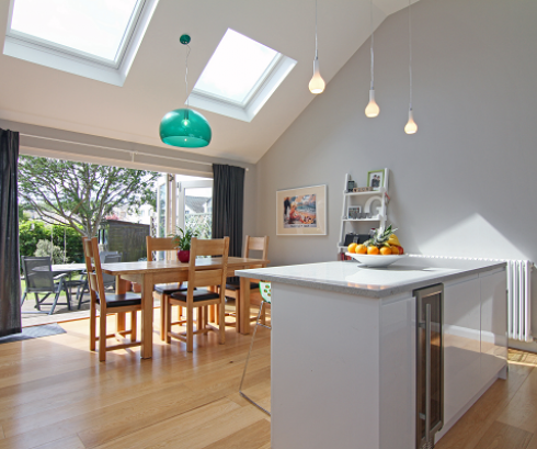 Amazing Kitchen Garden Room Extension Images